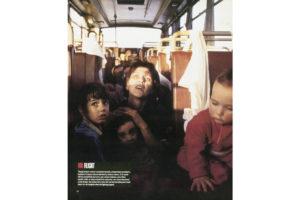 LIFE-Magazine / Reportage über die Evakuierung von 53 Kindern aus dem belagerten Sarajevo, Oktober 1992