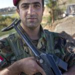 Portrait des Peschmerga Mighdad (27 Jahre).