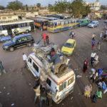 Der Busbahnhof an der Avenue de l'OUA in der malischen Hauptstadt Bamako. Für viele Migranten, dessen Flucht nach Europa schon in den Maghreb-Staaten scheitete, ist dieser Busbahnhof die vorläufige Endstation.