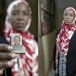 Mimi Diarra (37 Jahre). Mimi Diarra lebte mit ihrem Ehemann und Kindern 10 Jahre in Lybien. Ihr Ehemann wurde in Lybien verhaftet und ist seither vermisst. Mimi Diarra lebt mit ihren Kindern seit 4 Monaten wieder in der malischen Hauptstadt Bamako.
